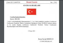 Türkiye, 13 yeni büyükelçi atadı